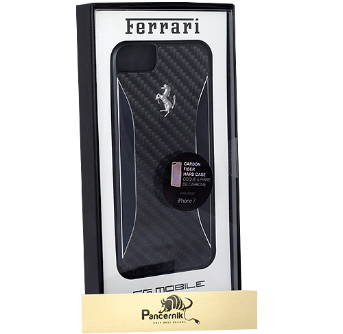 Etui Ferrari CG Mobile carbon fiber iphone 7