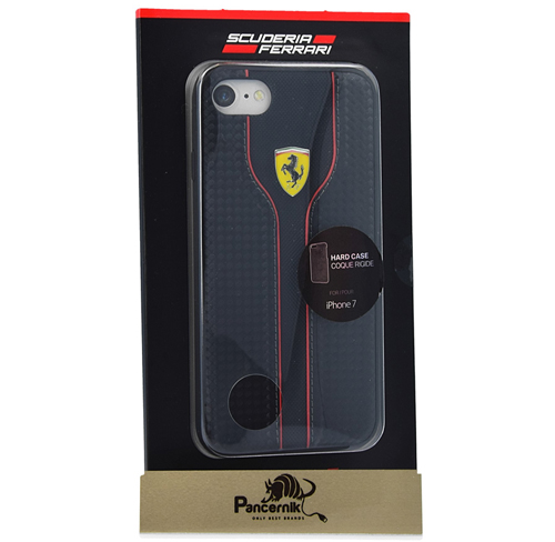 Etui Ferrari CG Mobile hard case iphone 7 czerwone