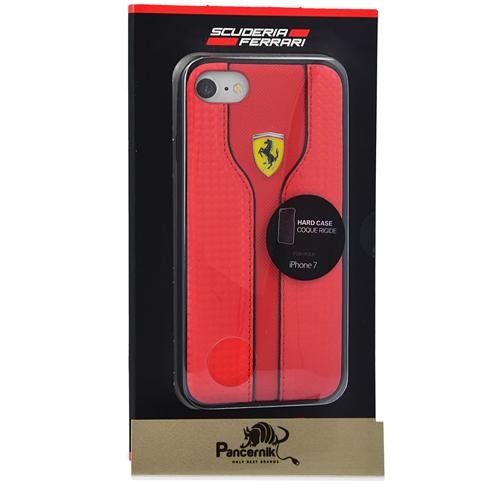 Etui Ferrari CG Mobile hard case iphone 7 czerwone