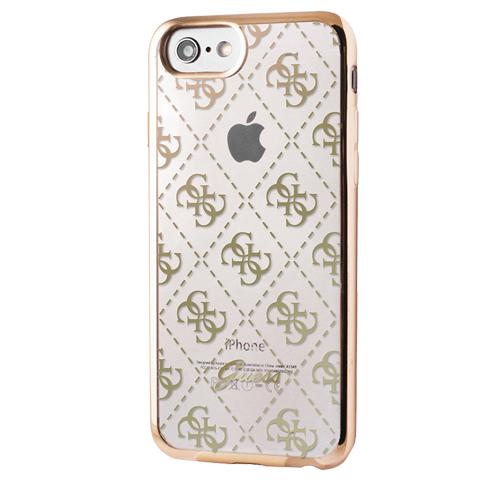 Etui Guess Soft case iphone 7 złote