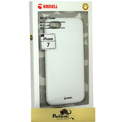 Krusell Bello Cover iPhone 7 białe
