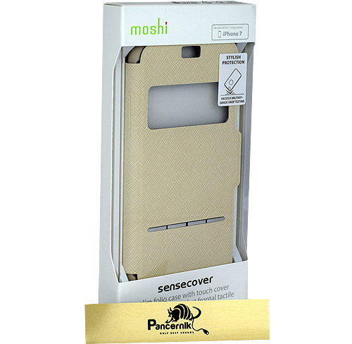 Moshi SensCover iphone 7 beżowe