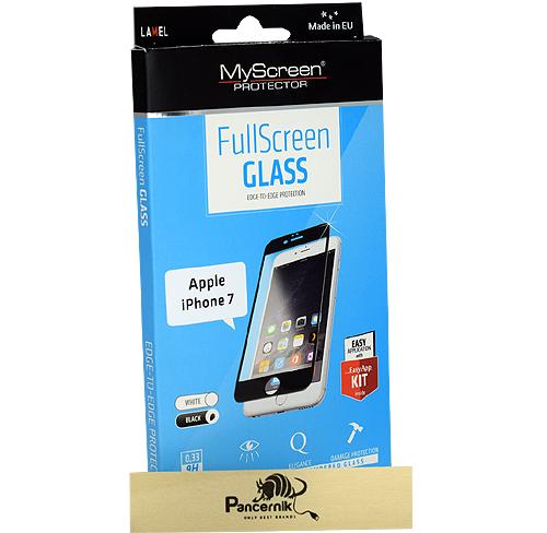Szkło Myscreen fullscreen iphone 7 czarne black czarna ramka