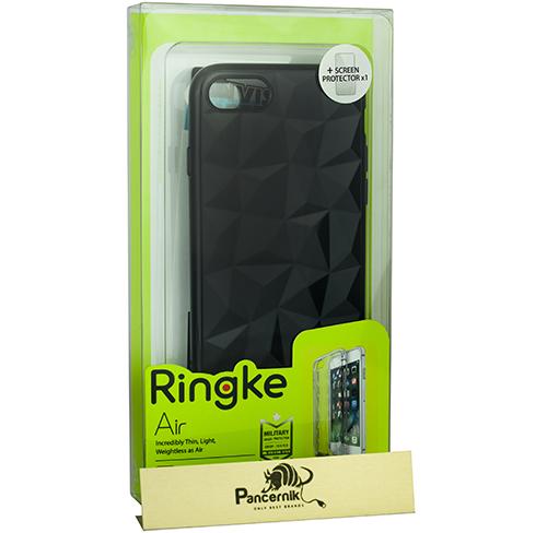 Etui Rearth Ringke Air Prism Apple iPhone 7, Ink Black + Folia