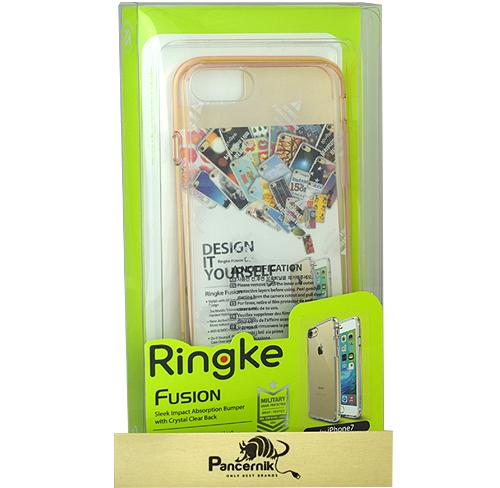 Etui Ringke Fusion iphone 7 rose gold