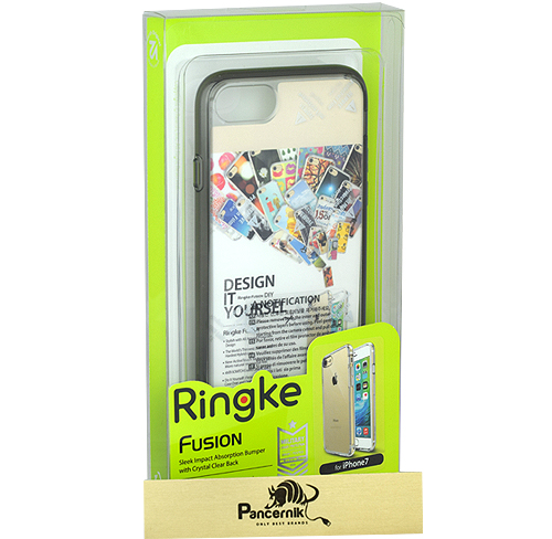 Etui Ringke Fusion iphone 7 smoke black