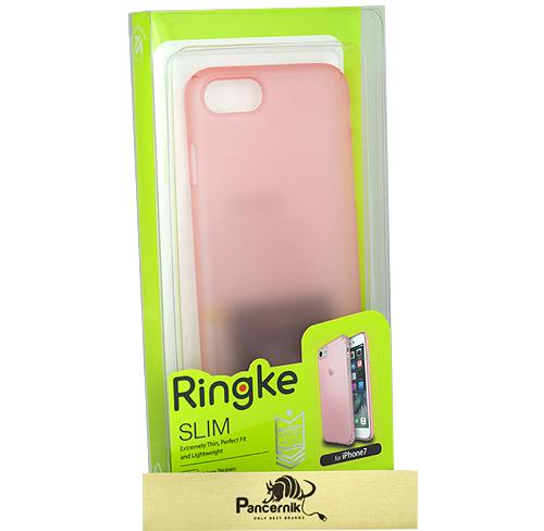 Etui Ringke SlimApple iPhone 7 różowe frost pink