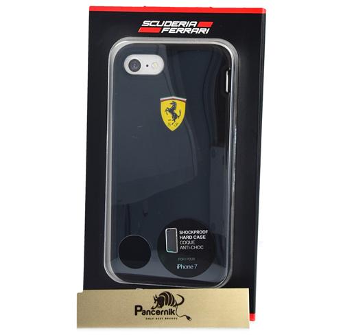 Etui Ferrari CG Mobile hard case shockproof iphone 7 czarne black