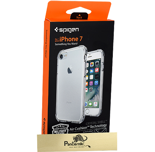 Etui Spigen crystal shell iphone 7 crystal clear