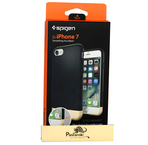 Etui Spigen style armor black czarne iPhone 7