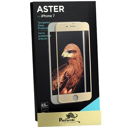 Szkło hartowane X-Doria Aster iphone 7, złota