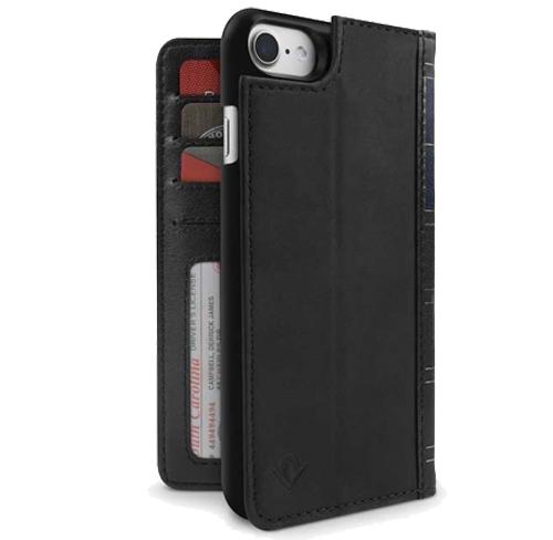 etui twelve south book wallet case leather iphone 7 black