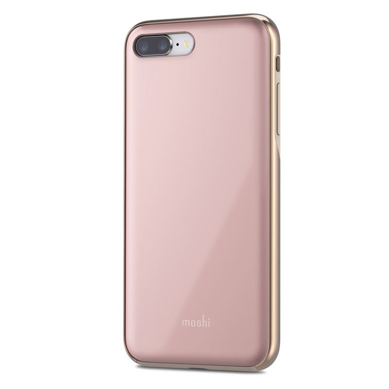 Etui, plecki Moshi iGlaze do iPhone 8 Plus / 7 Plus, Taupe Pink (różowe).