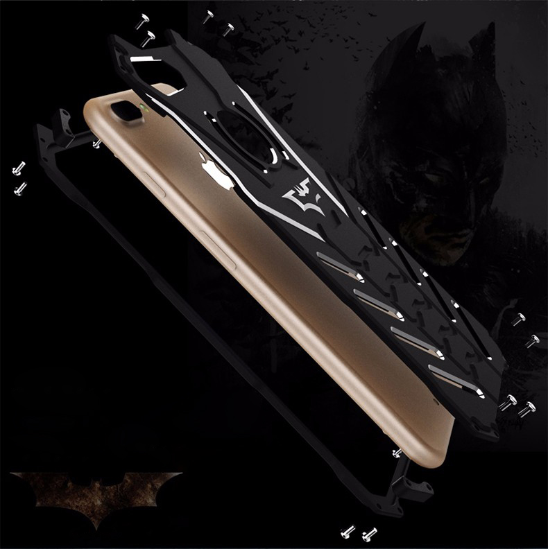 Oryginalne etui marki R-Just Batman case dla iPhone 8 Plus / 7 Plus