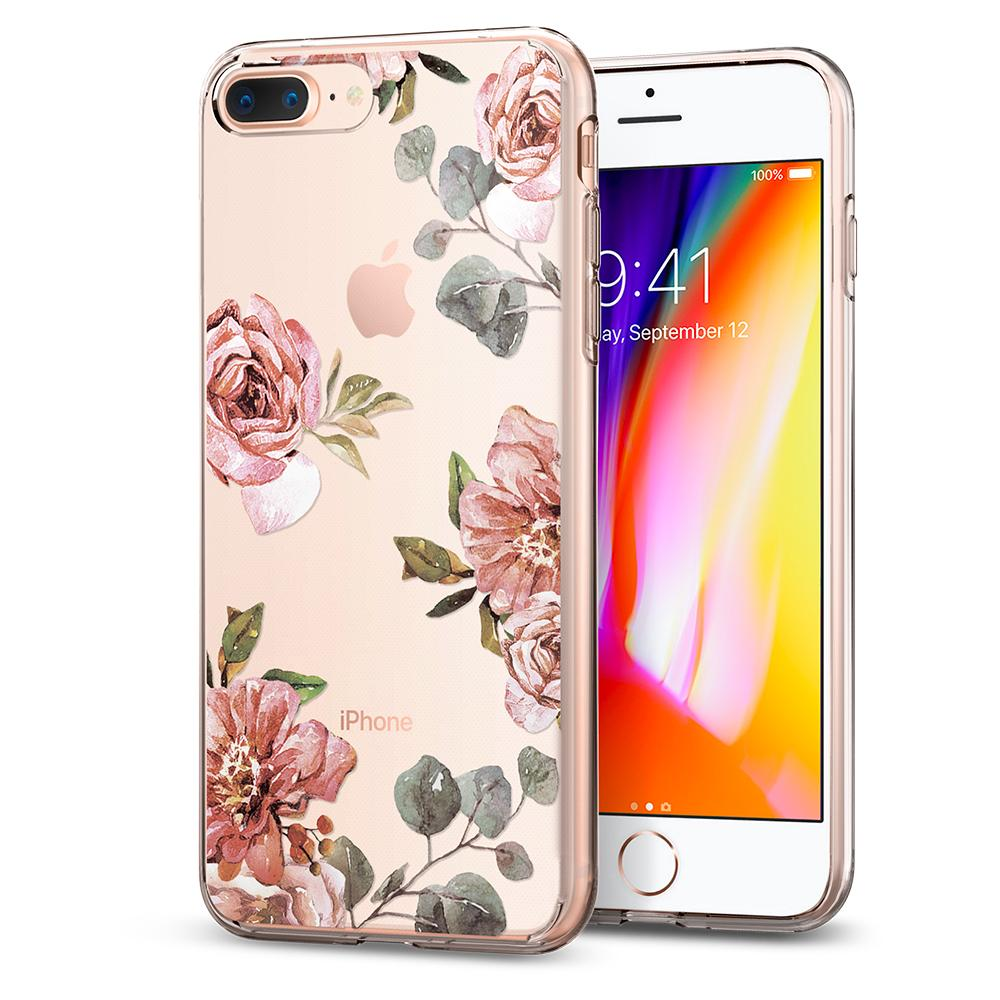 Etui Spigen Liquid Crystal dla iPhone 8 Plus / iPhone 7 Plus.