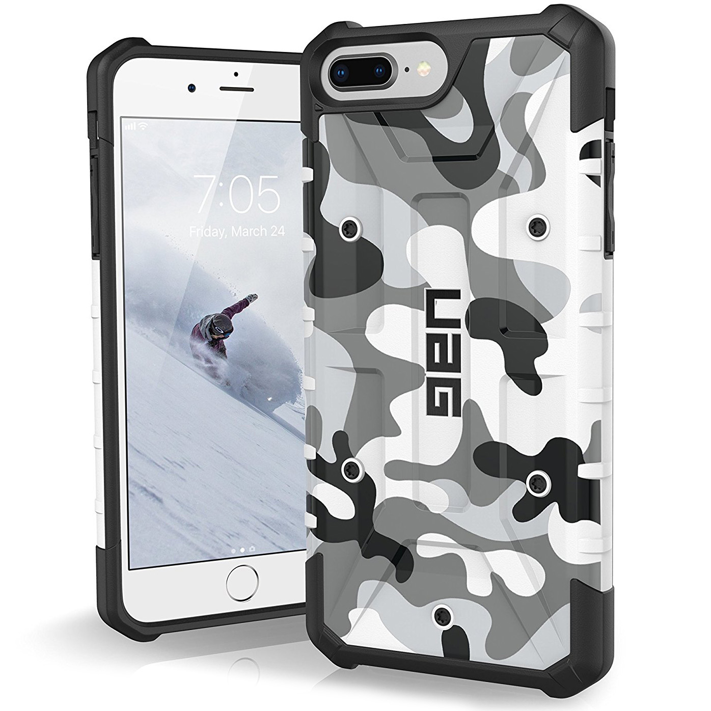 Etui Urban Armor Gear Pathfinder dla iPhone 8 Plus, 7+, 6s+. front