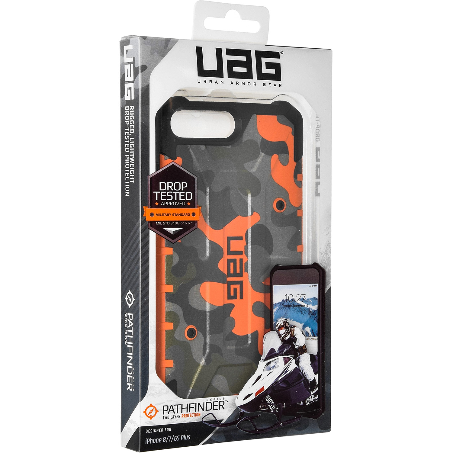 Etui Urban Armor Gear Pathfinder dla iPhone 8 Plus, 7+, 6s+. caseA