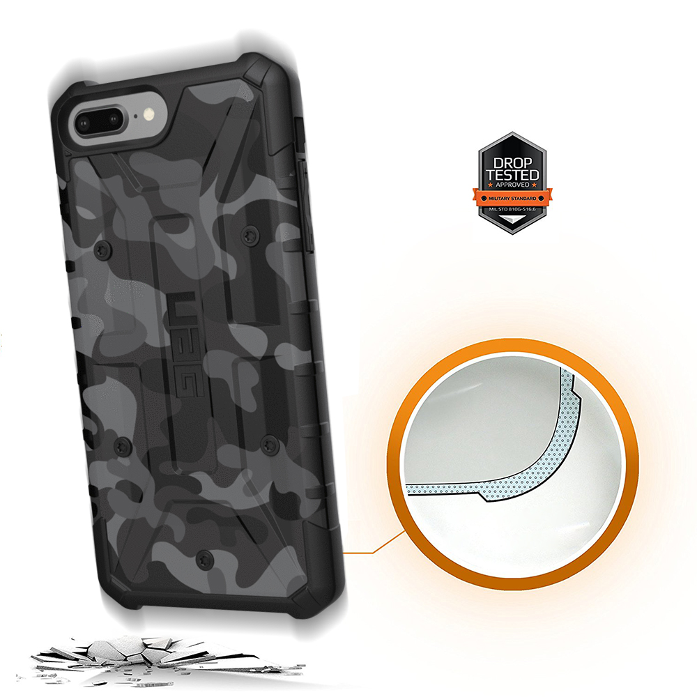 Etui Urban Armor Gear Pathfinder dla iPhone 8 Plus, 7+, 6s+. przód