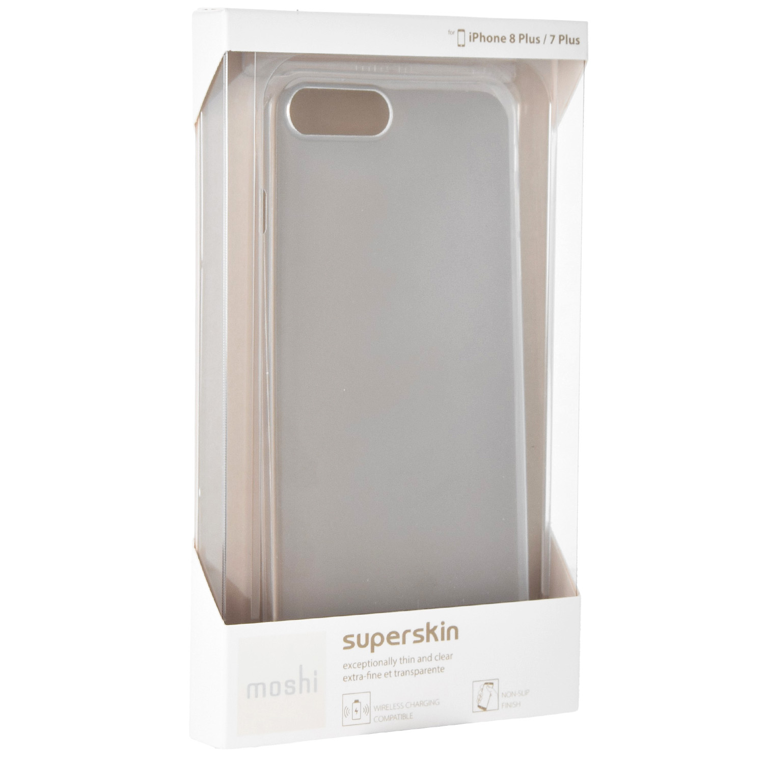 Etui Moshi SuperSkin do iPhone 8 Plus, iPhone 7 Plus