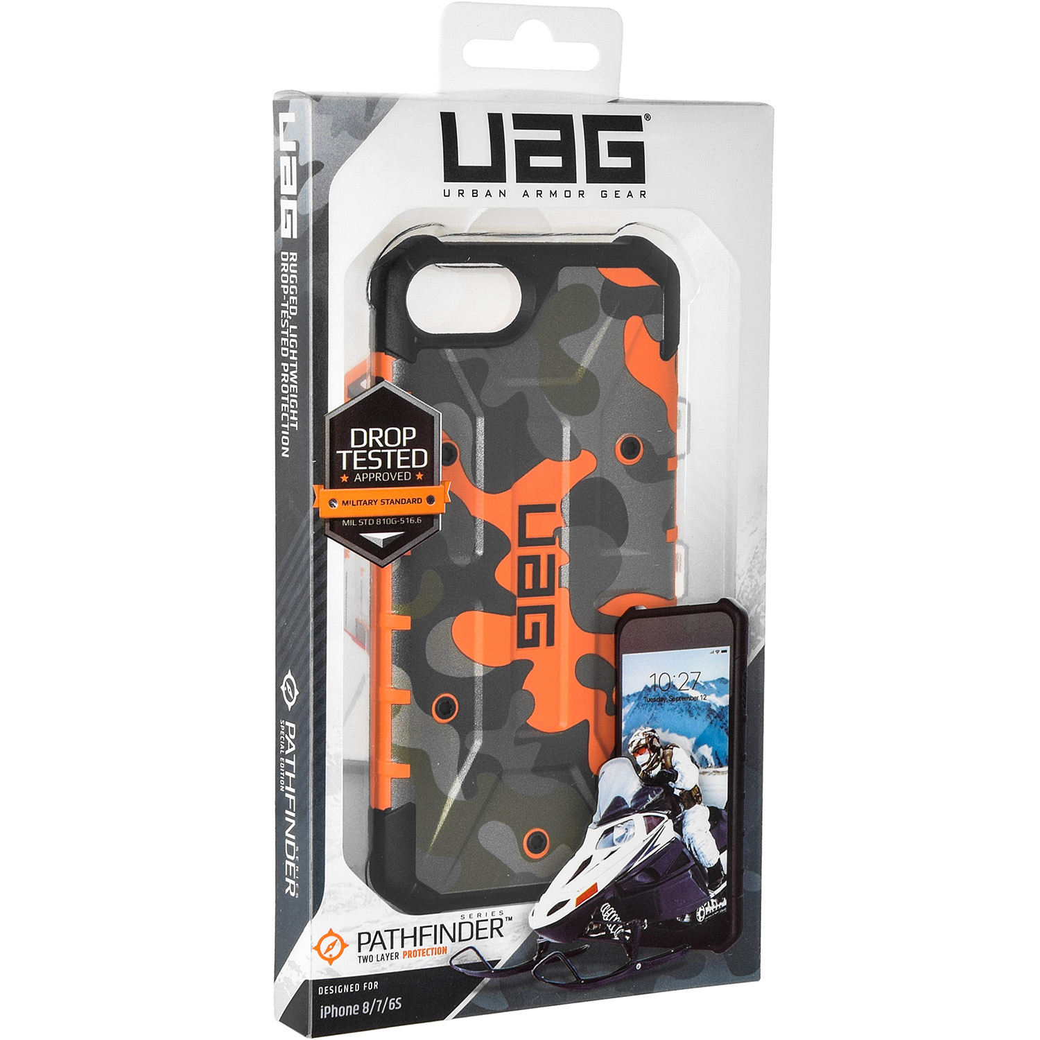 Etui Urban Armor Gear Pathfinder dla iPhone 8/7/6s caseA