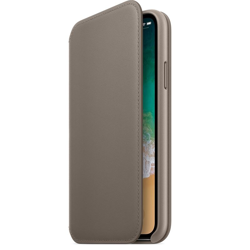 Etui skórzane Apple Leather Folio do iPhone X/10