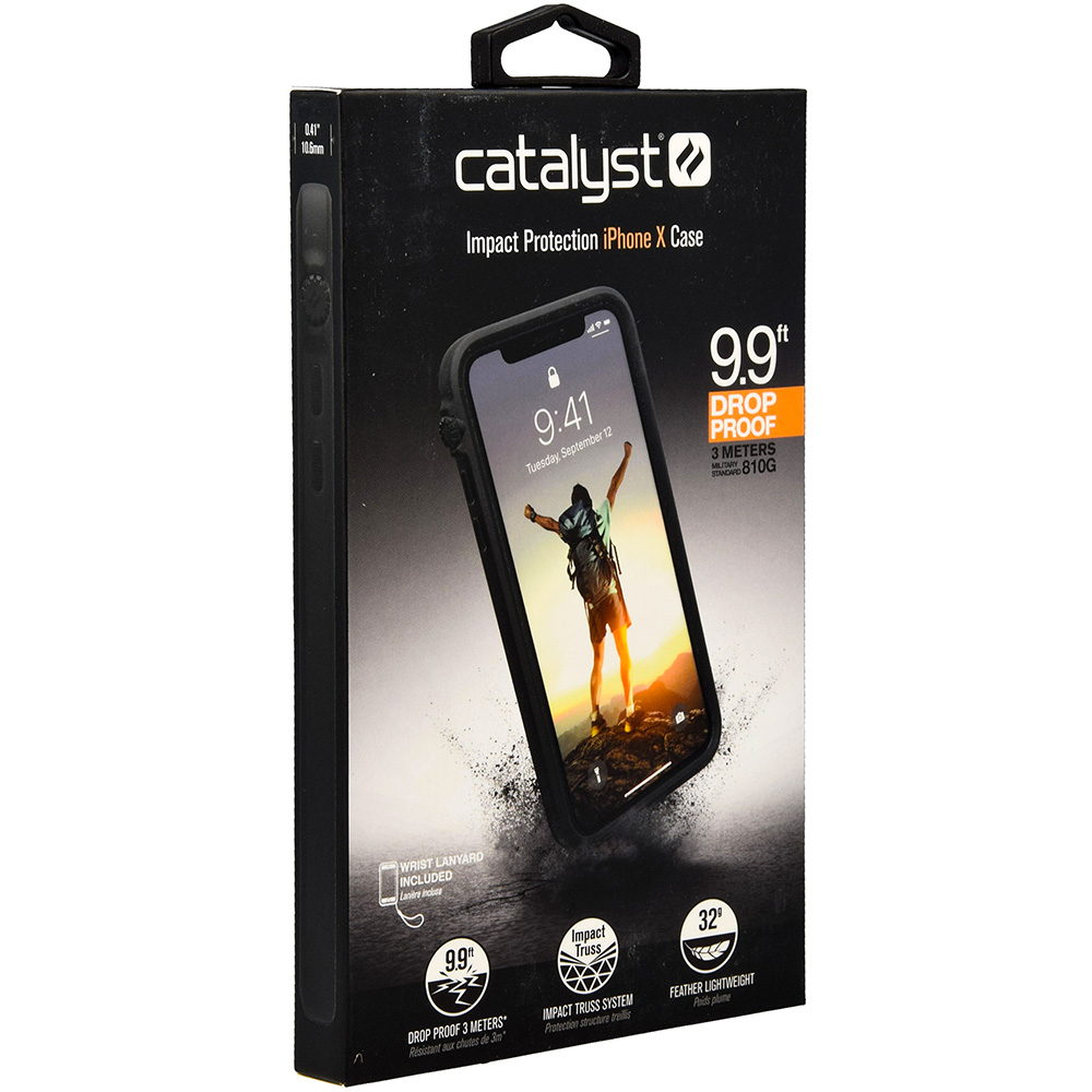 online store 993a7 e6475 Etui Catalyst Impact Protection, iPhone X/10, czarne