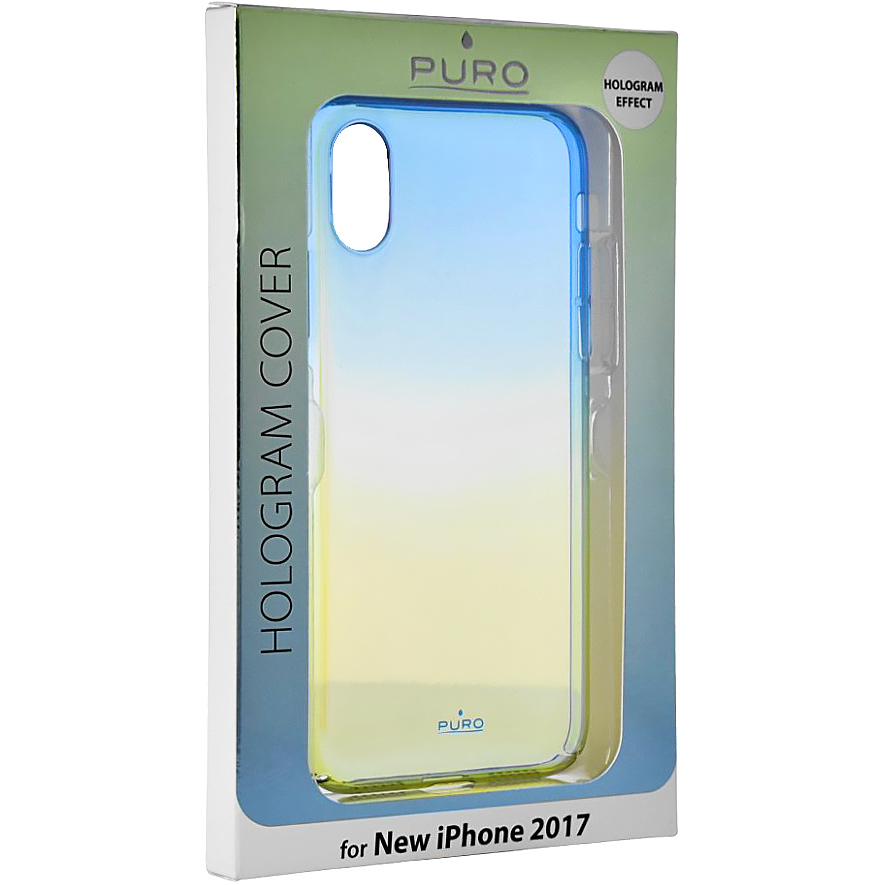 Etui Puro Hologram do iPhone X caseA