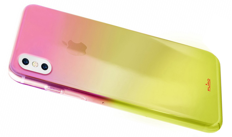 Etui Puro Hologram do iPhone X caseB
