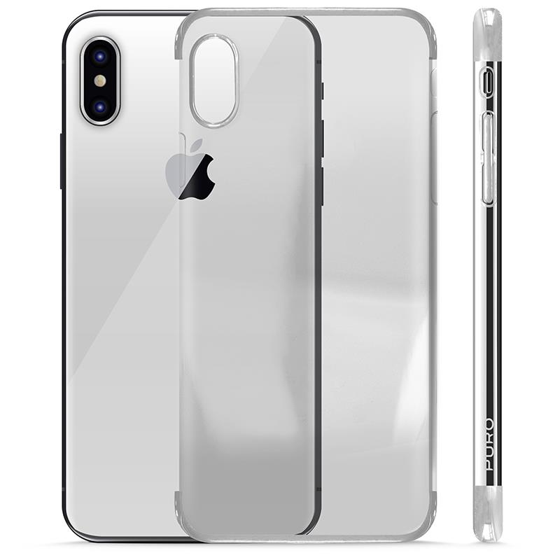 Etui Puro Verge Crystal Cover do iPhone X/10 caseB