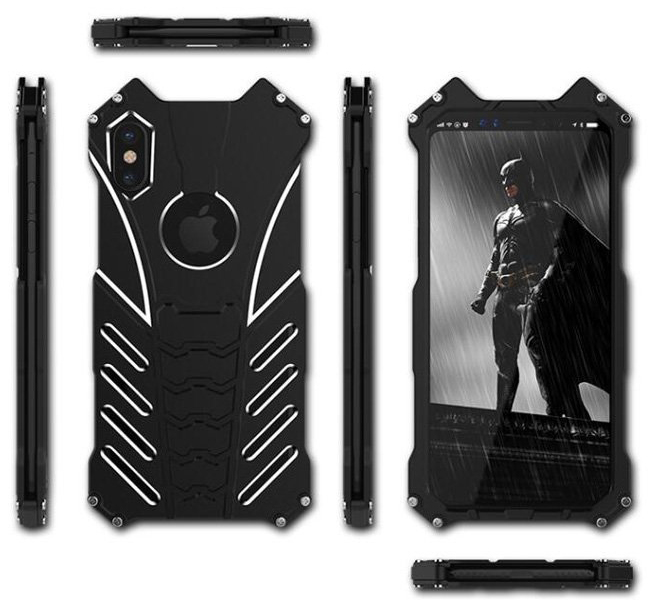 Oryginalne etui marki R-Just Batman case dla iPhone X