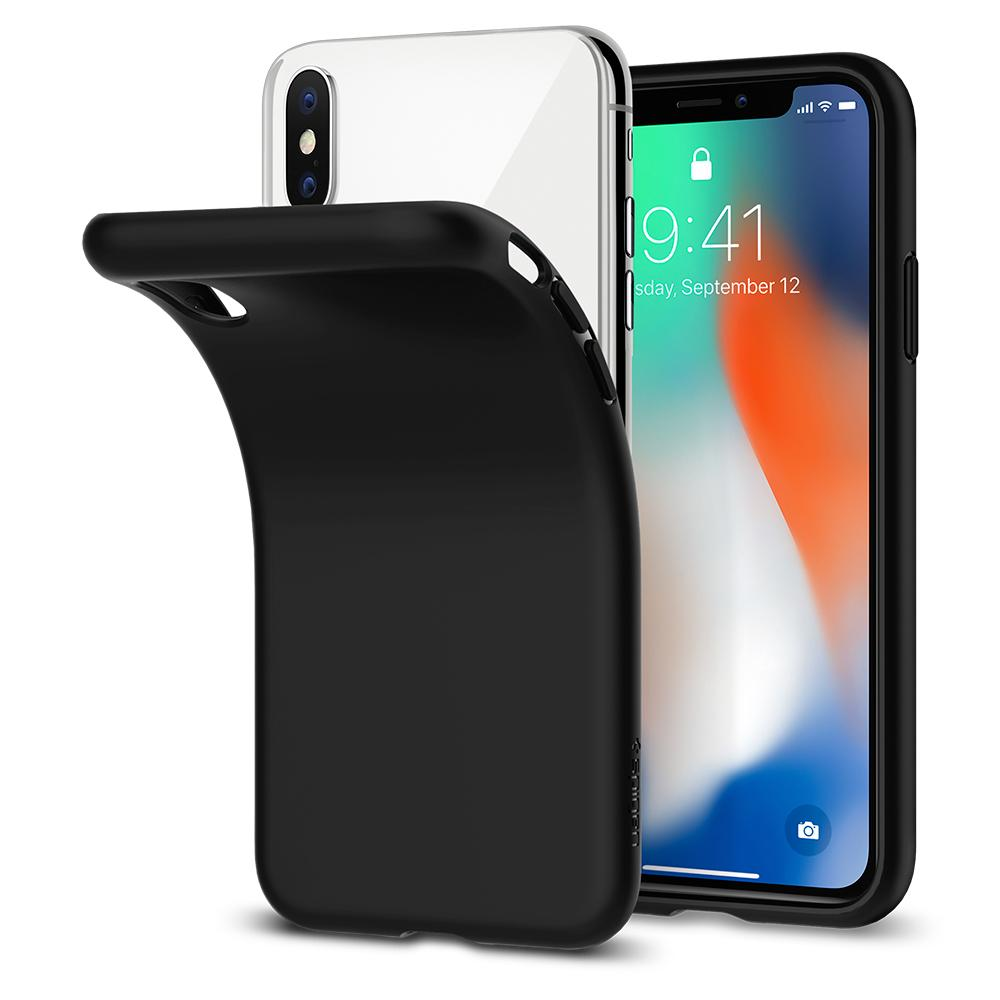 Etui Spigen Liquid Crystal dla iPhone X/10