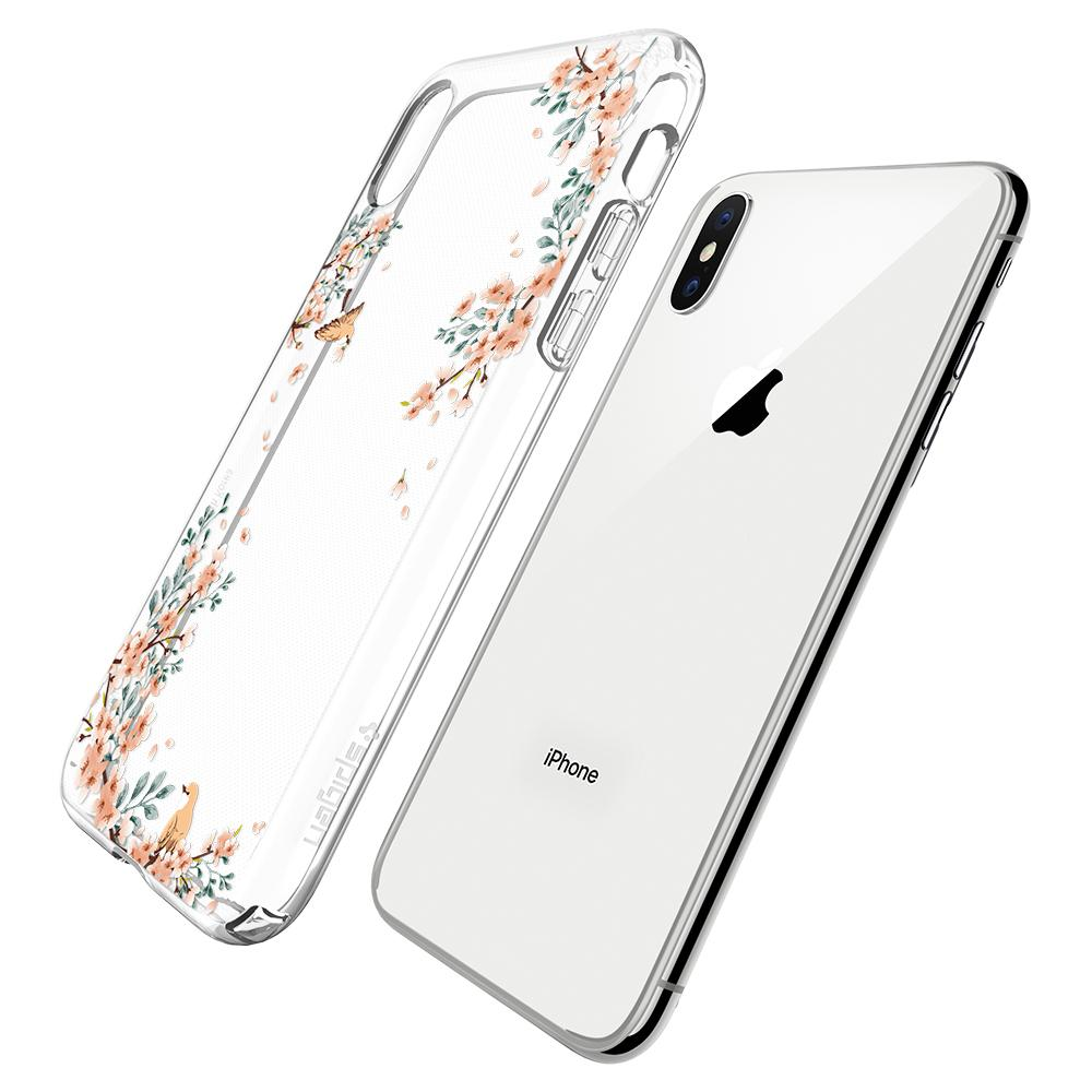 Etui Spigen Liquid Crystal Blossom dla iPhone X.