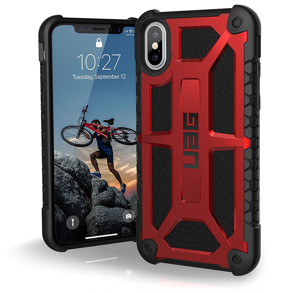 Etui Urban Armor Gear Monarch dla iPhone X/10 front