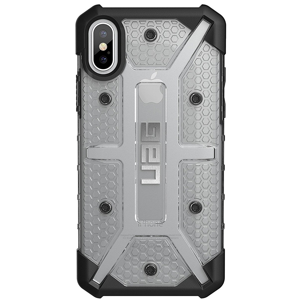 Etui Urban Armor Gear Plasma dla iPhone X/10 bok
