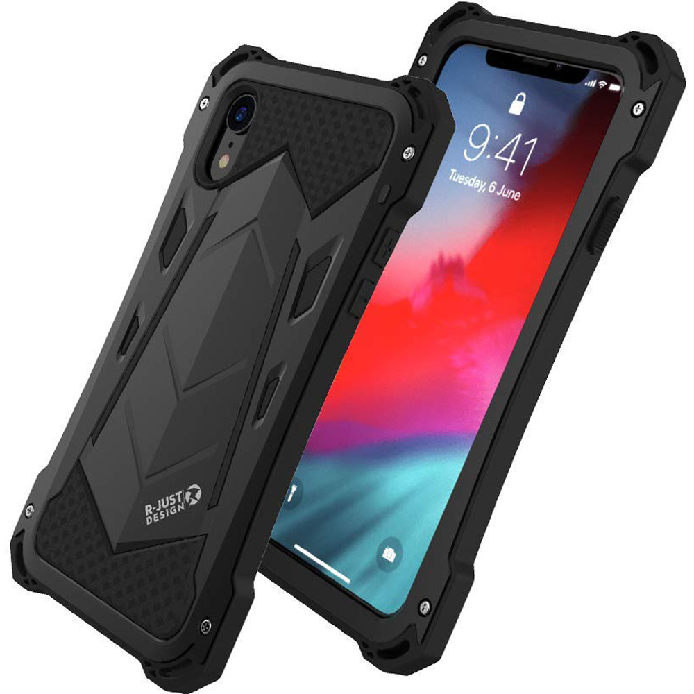 Oryginalne etui marki R-Just Ghost Warrior dla iPhone XR