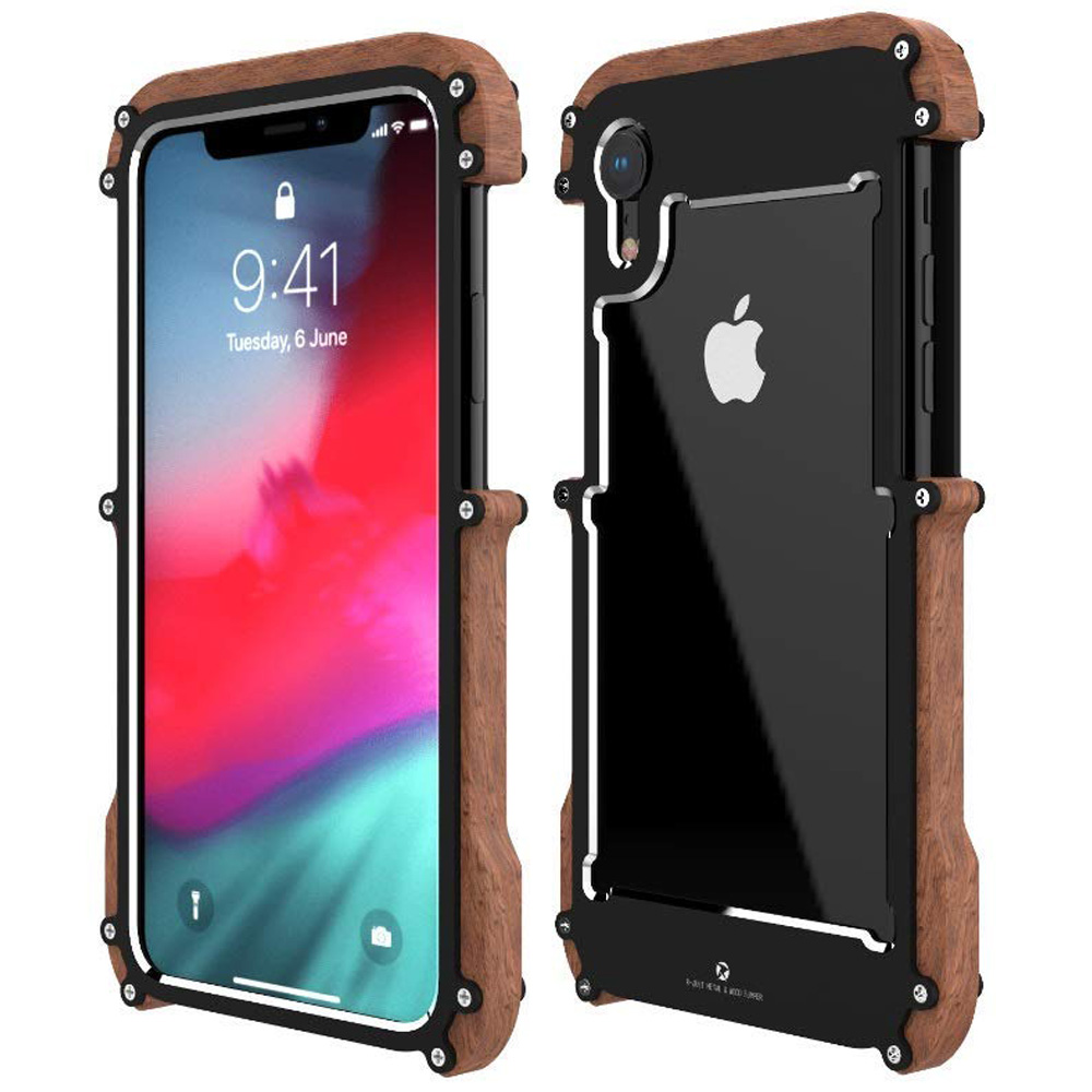 Oryginalne etui marki R-Just Ironwood dla iPhone XR