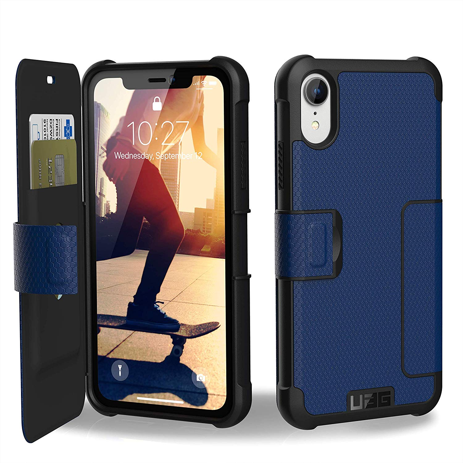 Etui Urban Armor Gear Metropolis dla iPhone XR