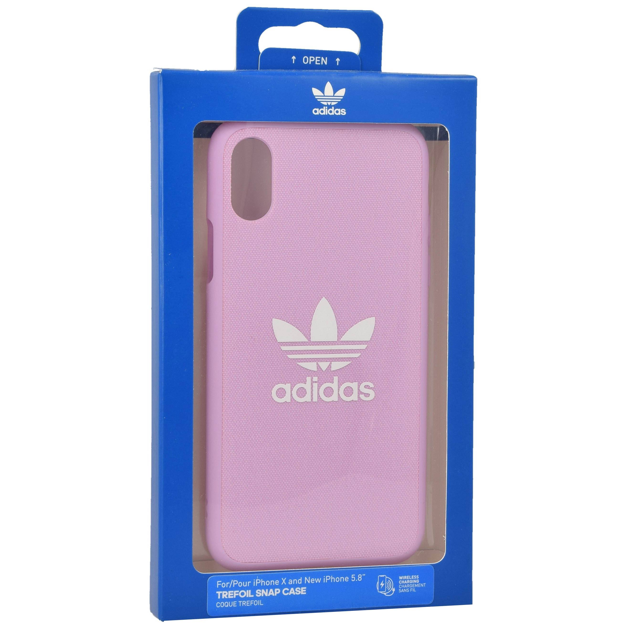 nuovo di zecca d1f8d 32dc2 Details about Adidas Moulded Trefoil | Etui, Case, Cover, Silicone | iPhone  X / Xs