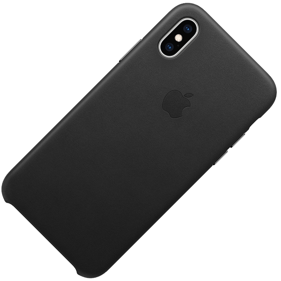 Etui skórzane Apple leather Case do iPhone Xs