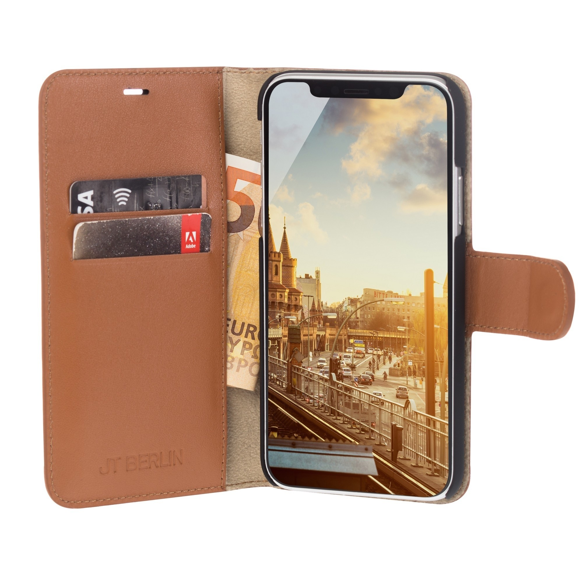 Etui JT Berlin Bookcase dla iPhone Xs/X