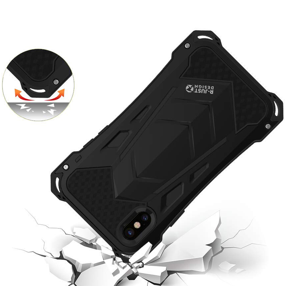 Oryginalne etui marki R-Just Ghost Warrior dla iPhone X/10