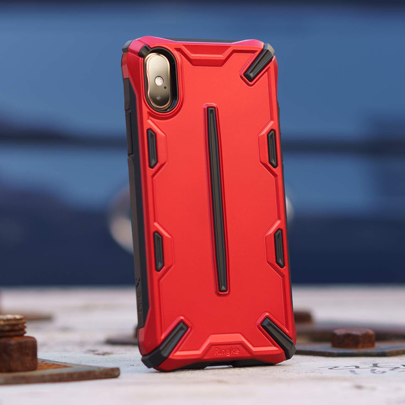 Etui Rearth Ringke Dual X do iPhone Xs/X