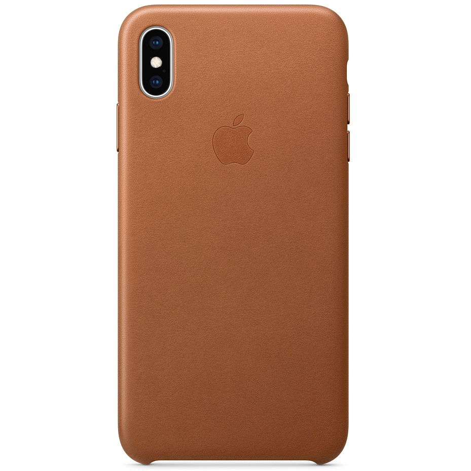 Etui skórzane Apple leather Case do iPhone Xs Max