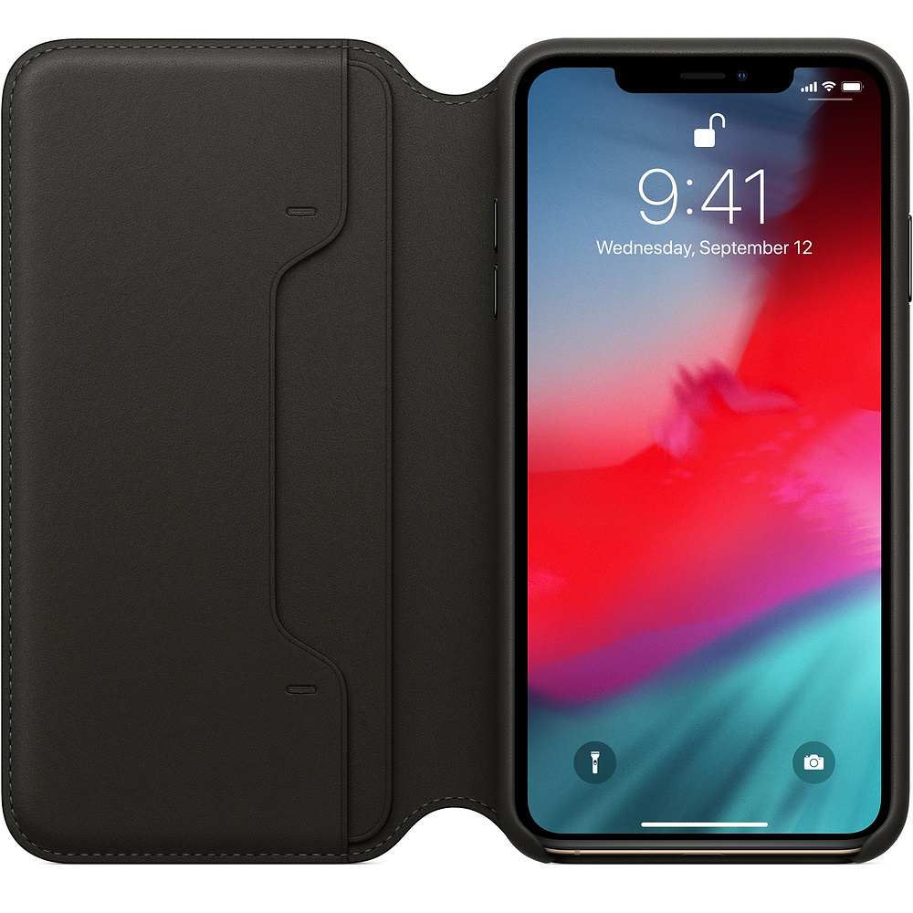 Etui skórzane Apple Leather Folio do iPhone Xs Max