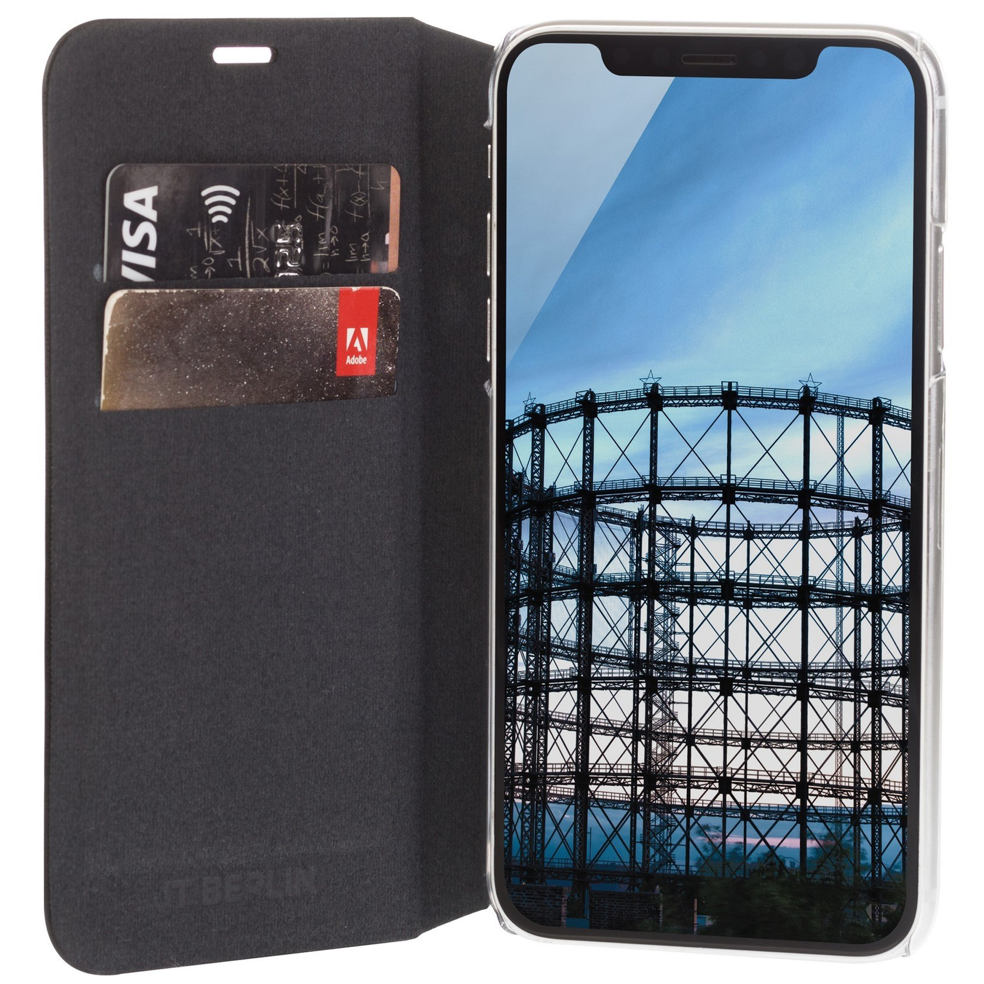 Etui JT Berlin Foliocase dla iPhone Xs Max.