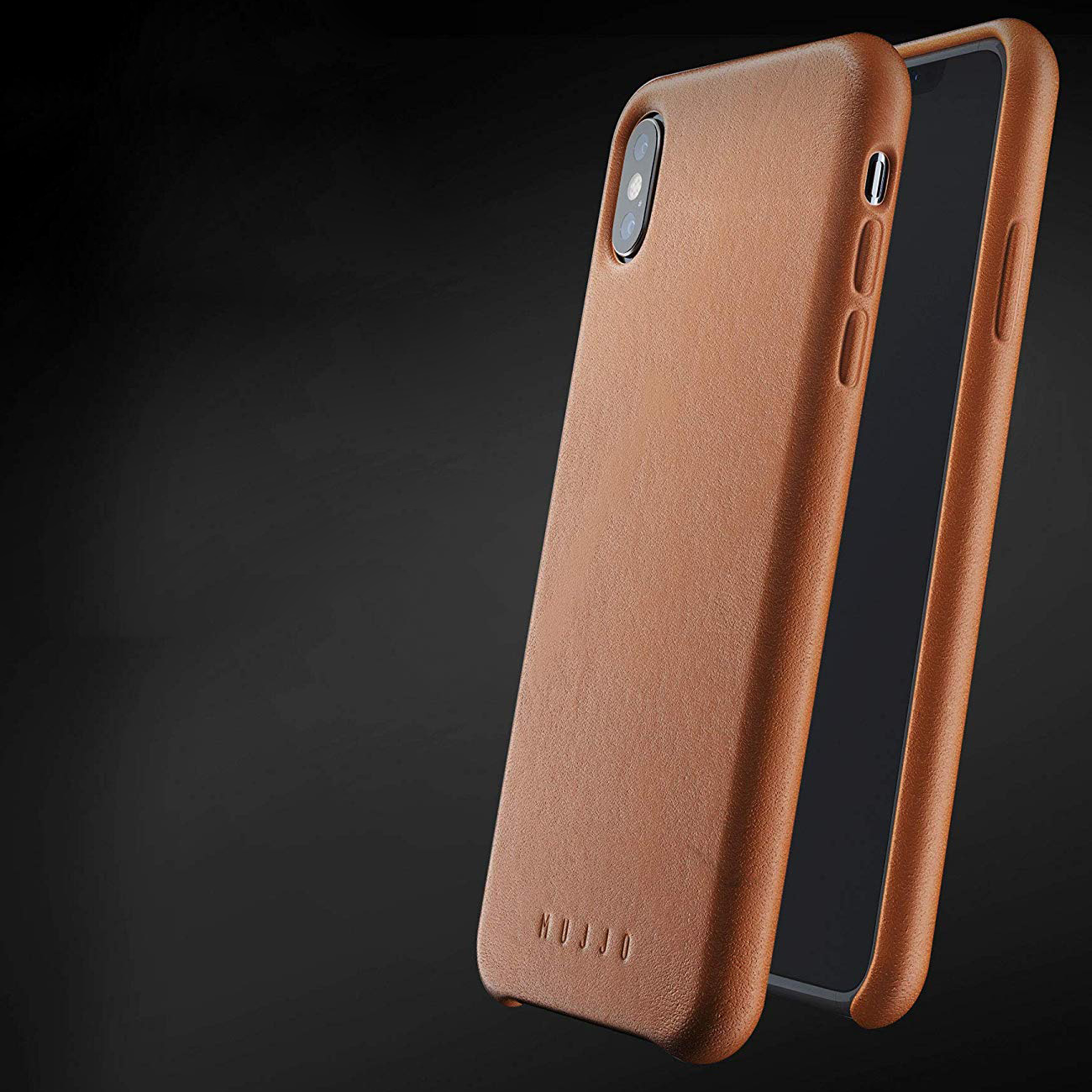 Etui skórzane Mujjo Full Grain Leather Case iPhone Xs Max