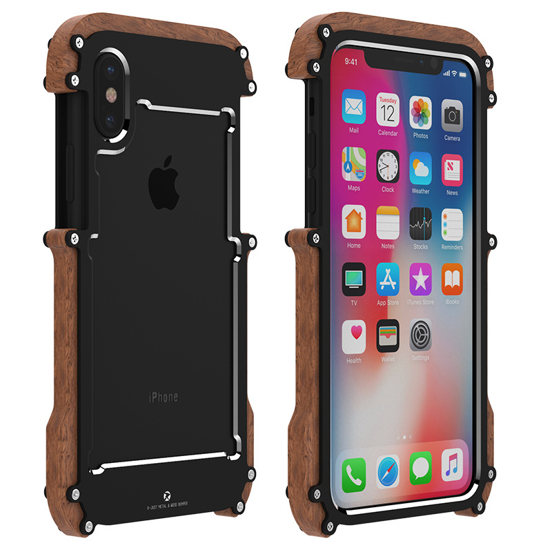 Oryginalne etui marki R-Just Ironwood dla iPhone Xs Max