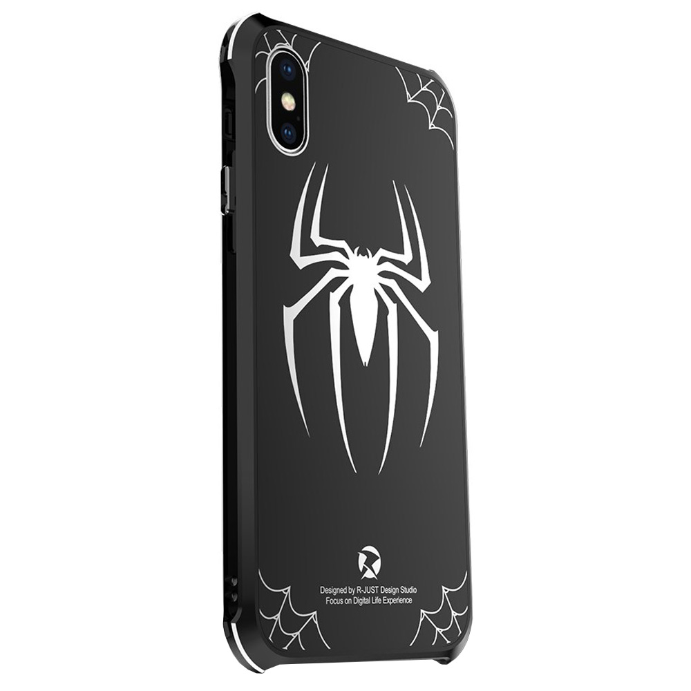 Oryginalne etui marki R-Just dla iPhone XR, Spiderman Big Spider