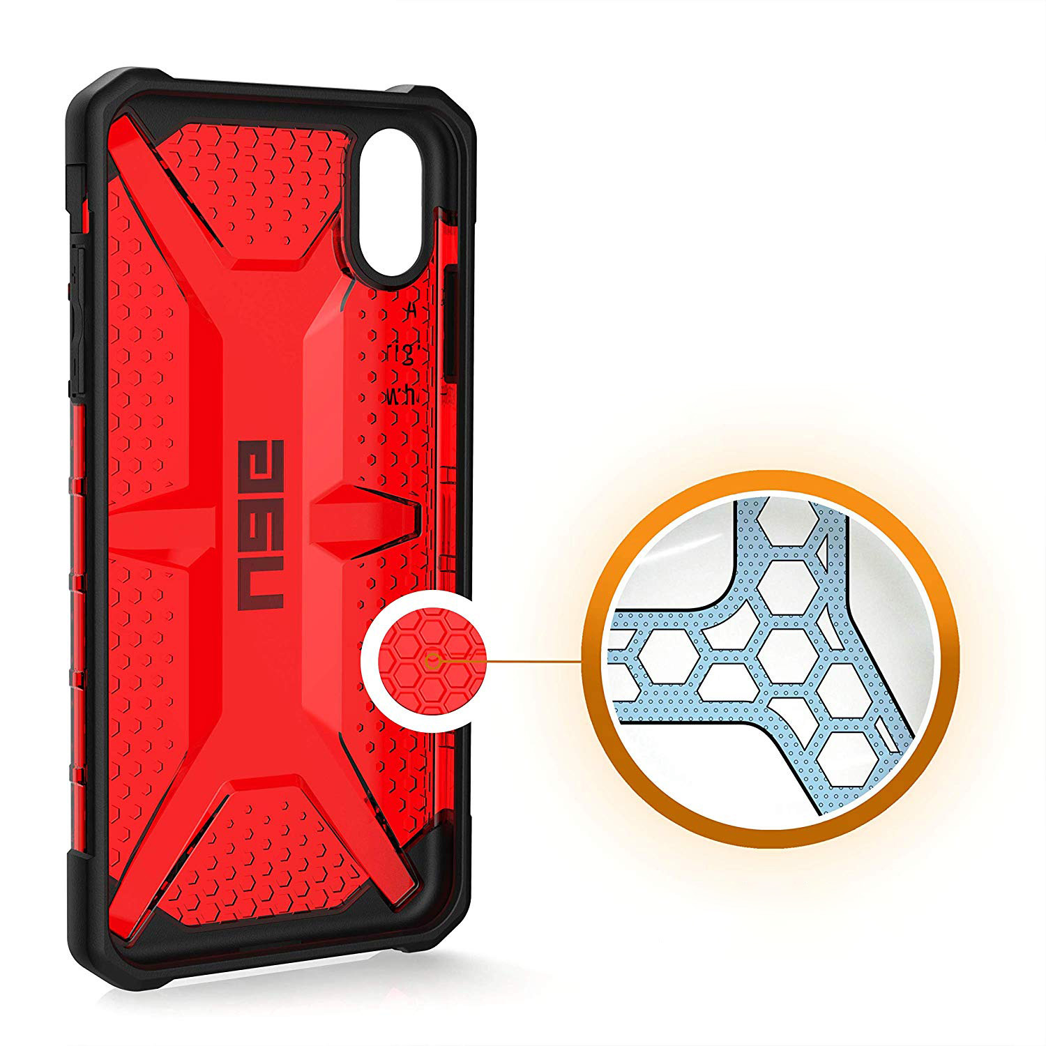 Etui Urban Armor Gear Plasma dla iPhone Xs Max