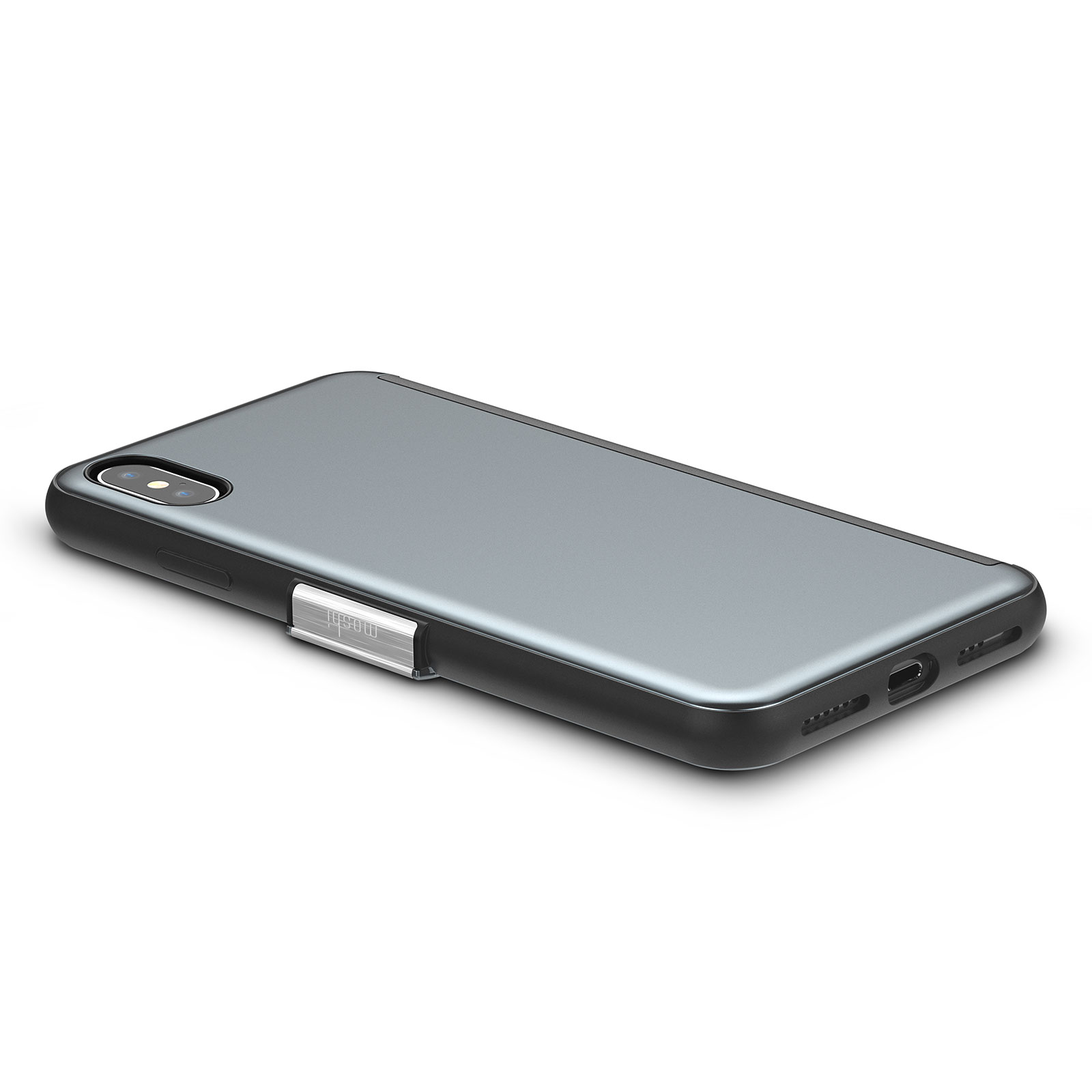 Etui z klapką Moshi StealthCover do iPhone Xs Max